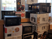 Mixed grill pallets, food processors, toasters, juicers, microwaves