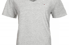 TOMMY JEANS T-SHIRT MEN T-kreklu vīrieši V-NECK