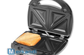 Idejas vārīšanas sviestmaižu ražotājs 3in1 750W
